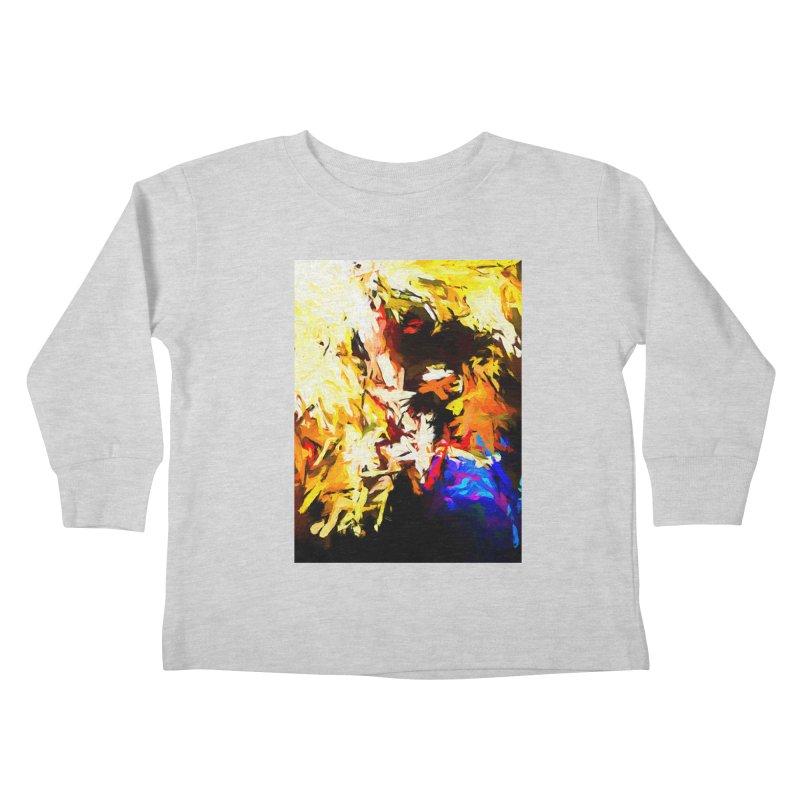 Talking Man Kids Toddler Longsleeve T-Shirt by jackievano's Artist Shop