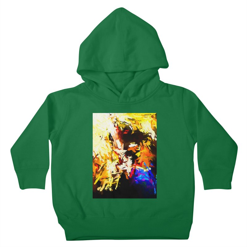 Talking Man Kids Toddler Pullover Hoody by jackievano's Artist Shop