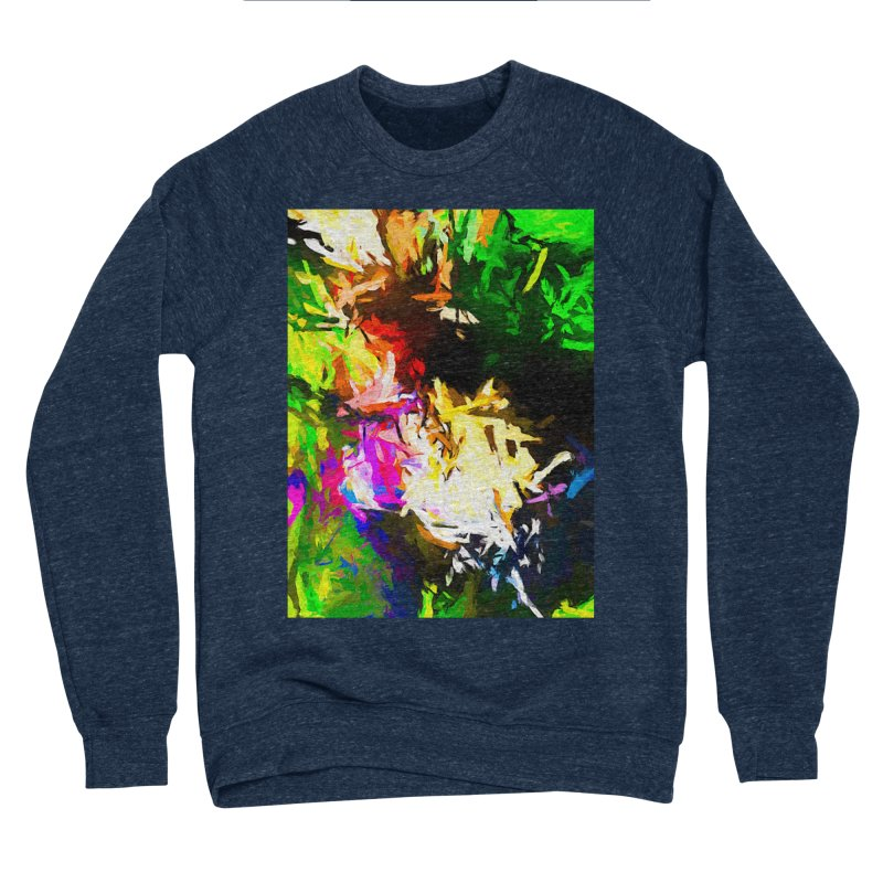 Pink Totem Men's Sponge Fleece Sweatshirt by jackievano's Artist Shop