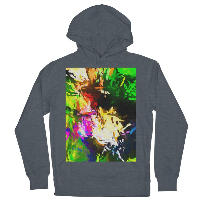 Pink Totem Men's French Terry Pullover Hoody by jackievano's Artist Shop