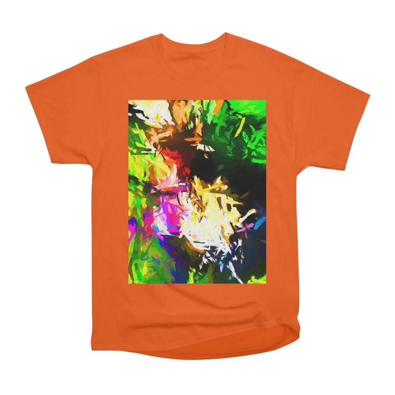 Pink Totem Men's Heavyweight T-Shirt by jackievano's Artist Shop