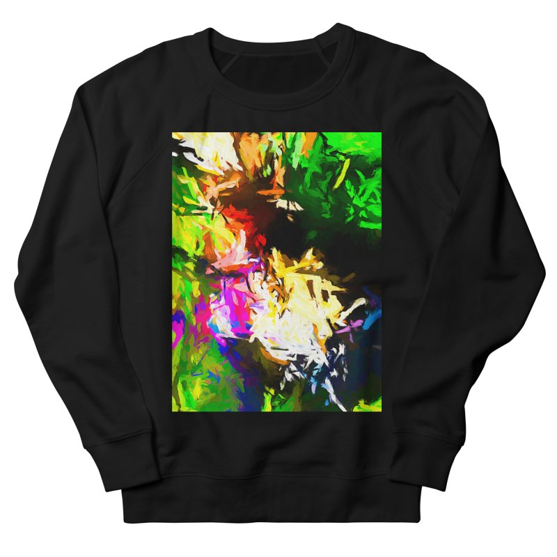 Pink Totem Women's French Terry Sweatshirt by jackievano's Artist Shop