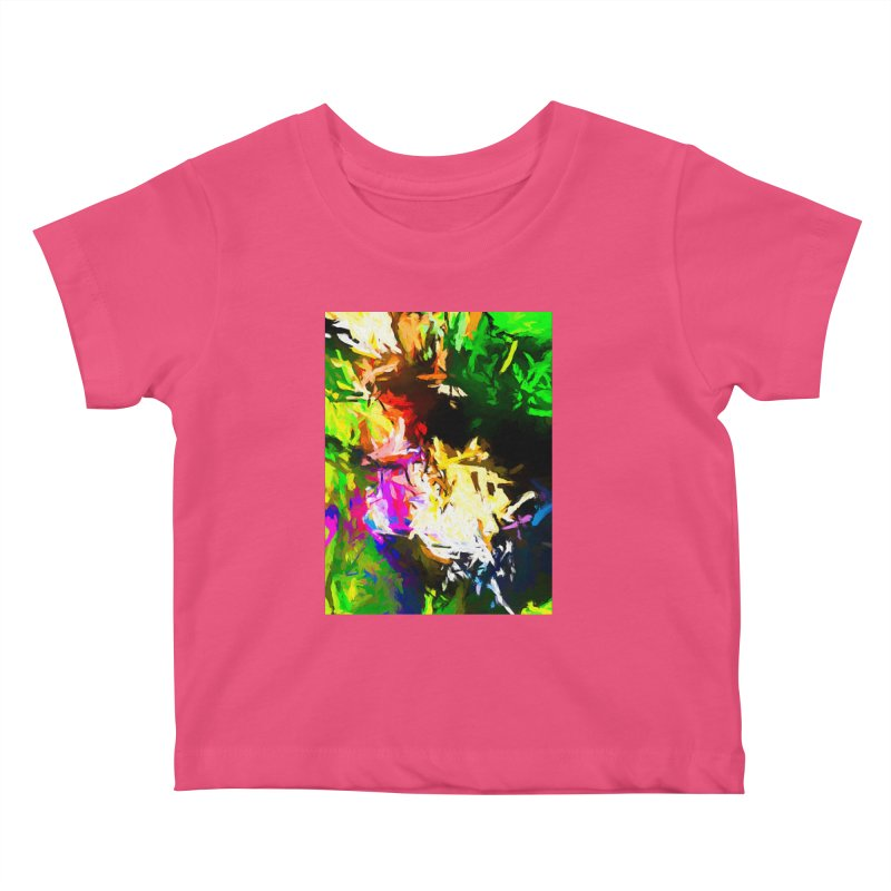 Pink Totem Kids Baby T-Shirt by jackievano's Artist Shop