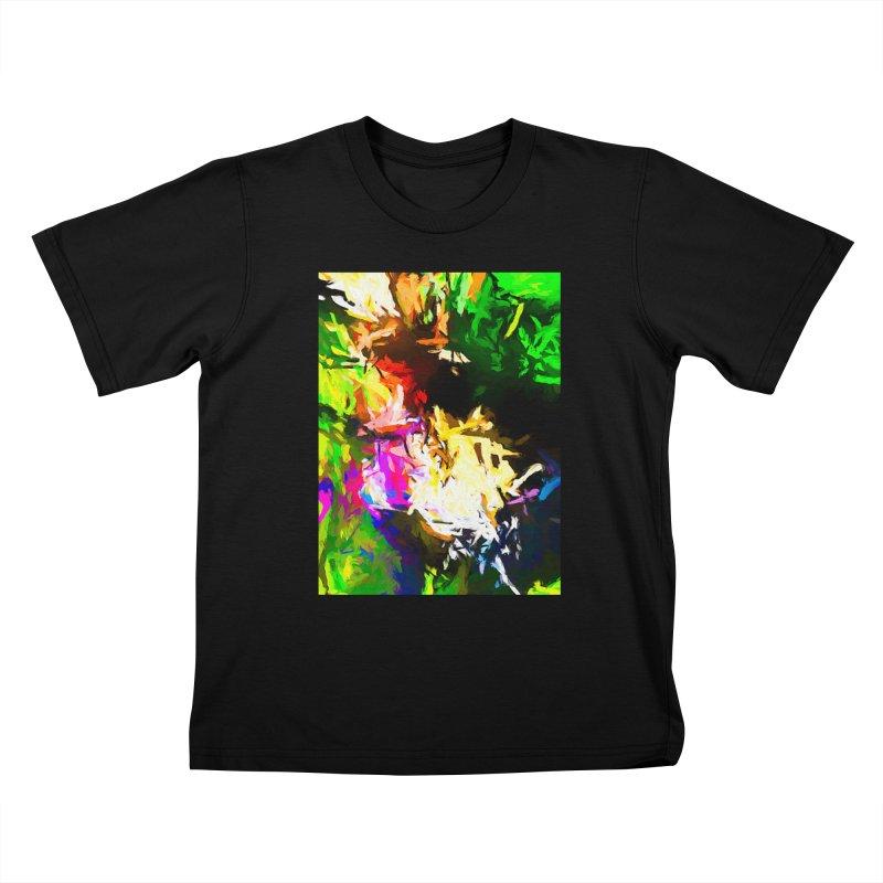 Pink Totem Kids T-Shirt by jackievano's Artist Shop