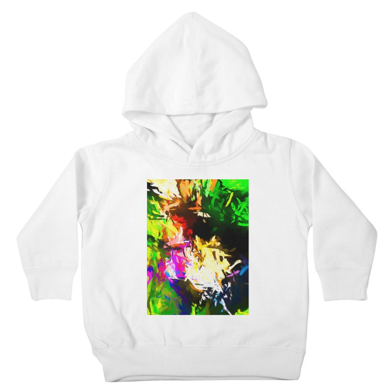 Pink Totem Kids Toddler Pullover Hoody by jackievano's Artist Shop