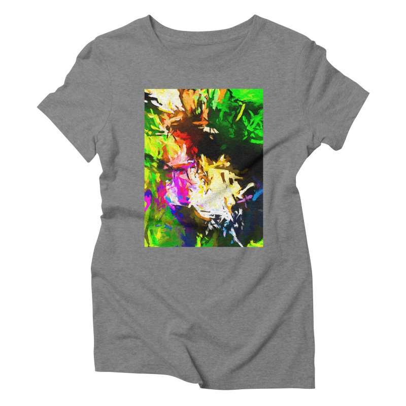 Pink Totem Women's Triblend T-Shirt by jackievano's Artist Shop