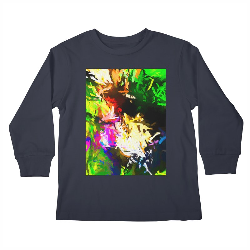 Pink Totem Kids Longsleeve T-Shirt by jackievano's Artist Shop
