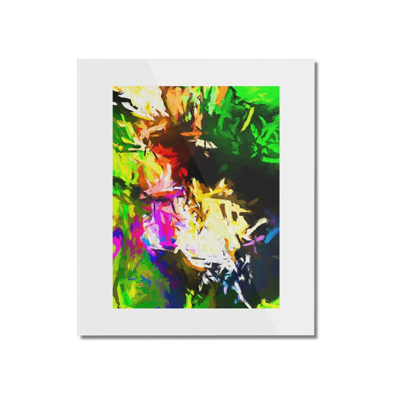 Pink Totem Home Mounted Acrylic Print by jackievano's Artist Shop