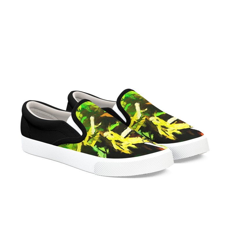 Rain and Tears Men's Slip-On Shoes by jackievano's Artist Shop