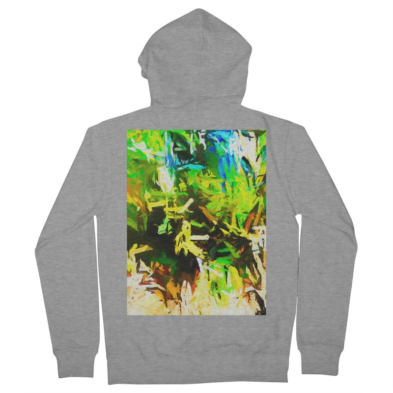 Rain and Tears Women's French Terry Zip-Up Hoody by jackievano's Artist Shop