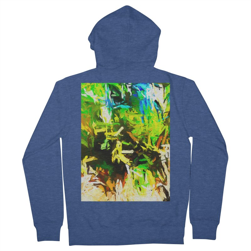 Rain and Tears Men's French Terry Zip-Up Hoody by jackievano's Artist Shop