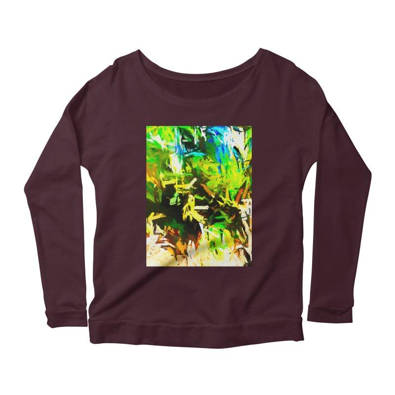 Rain and Tears Women's Scoop Neck Longsleeve T-Shirt by jackievano's Artist Shop