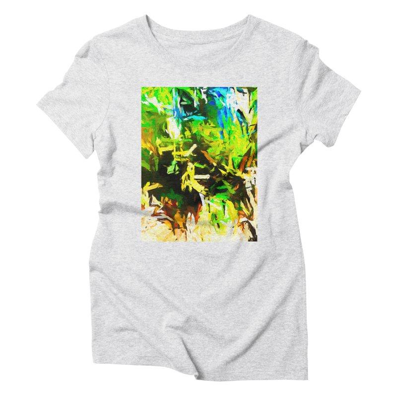 Rain and Tears Women's Triblend T-Shirt by jackievano's Artist Shop