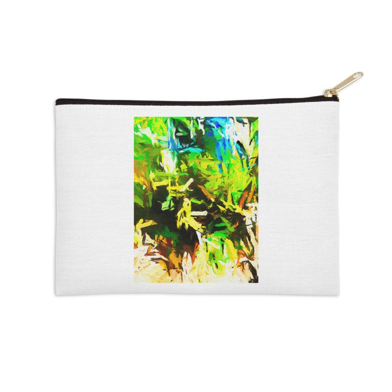 Rain and Tears Accessories Zip Pouch by jackievano's Artist Shop