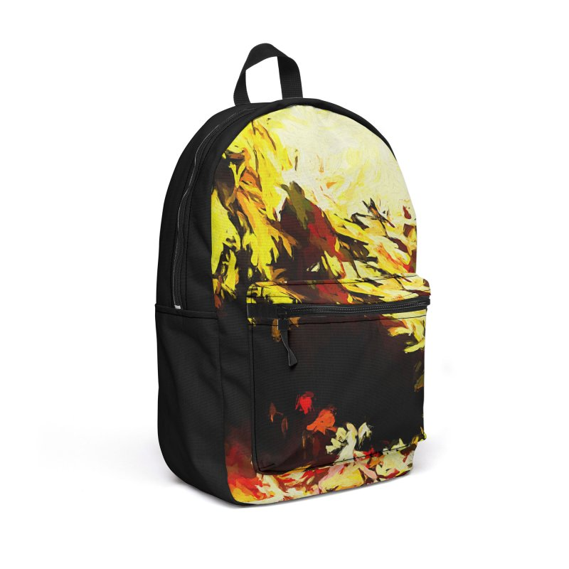 Weeping Woman by the Water Accessories Backpack Bag by jackievano's Artist Shop