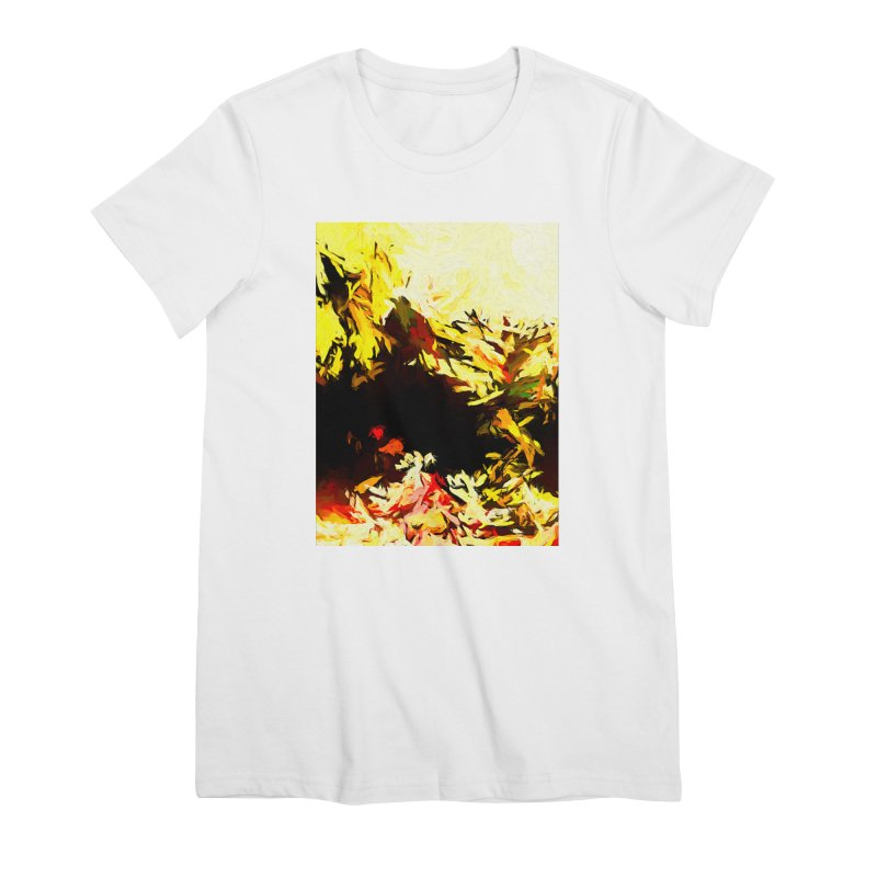 Weeping Woman by the Water Women's Premium T-Shirt by jackievano's Artist Shop
