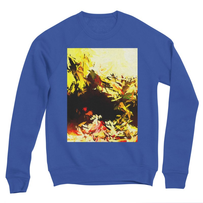 Weeping Woman by the Water Men's Sponge Fleece Sweatshirt by jackievano's Artist Shop