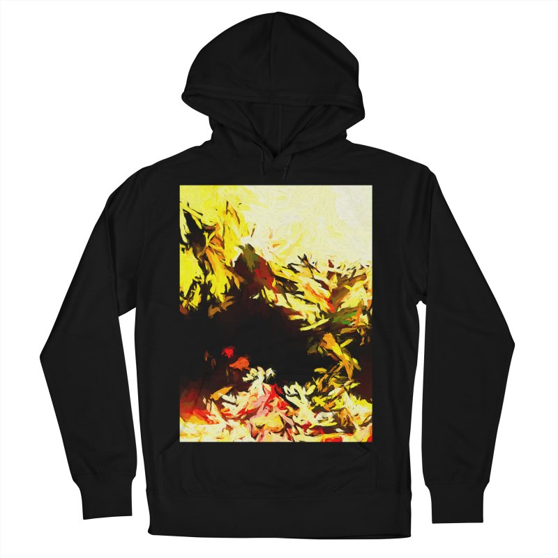 Weeping Woman by the Water Men's French Terry Pullover Hoody by jackievano's Artist Shop