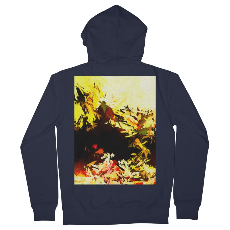 Weeping Woman by the Water Women's French Terry Zip-Up Hoody by jackievano's Artist Shop