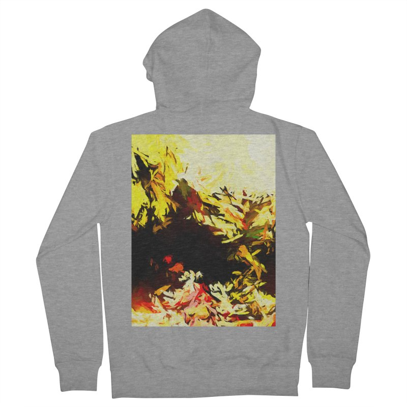 Weeping Woman by the Water Men's French Terry Zip-Up Hoody by jackievano's Artist Shop