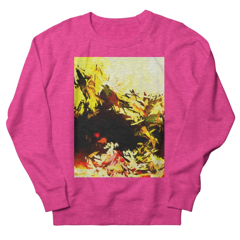 Weeping Woman by the Water Women's French Terry Sweatshirt by jackievano's Artist Shop