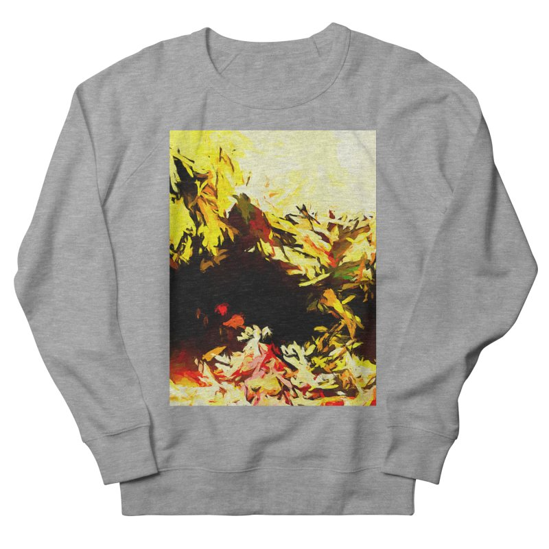 Weeping Woman by the Water Men's French Terry Sweatshirt by jackievano's Artist Shop