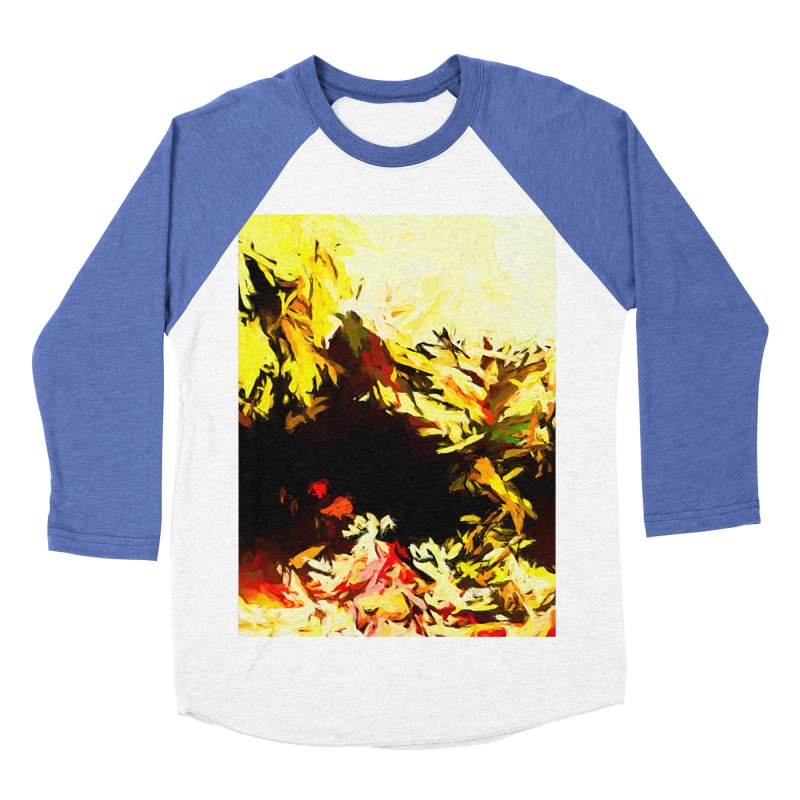Weeping Woman by the Water Women's Baseball Triblend Longsleeve T-Shirt by jackievano's Artist Shop