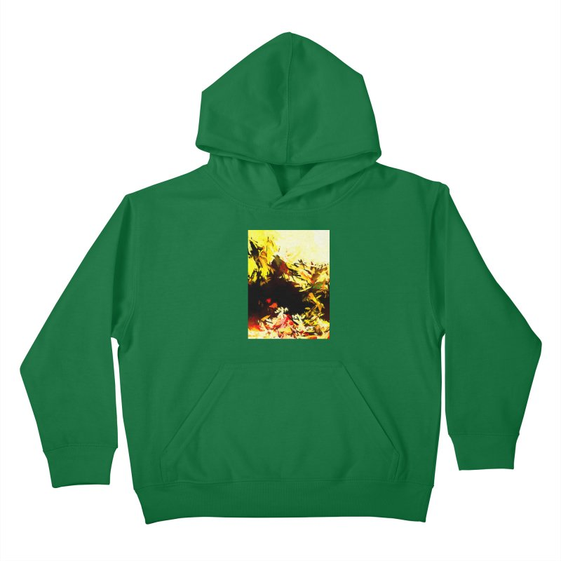 Weeping Woman by the Water Kids Pullover Hoody by jackievano's Artist Shop