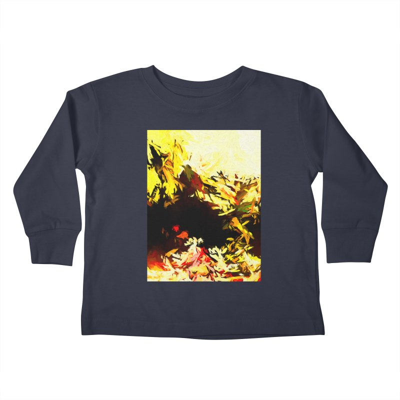 Weeping Woman by the Water Kids Toddler Longsleeve T-Shirt by jackievano's Artist Shop