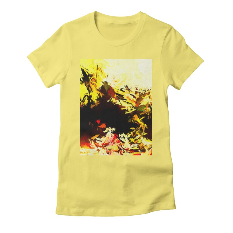 Weeping Woman by the Water Women's Fitted T-Shirt by jackievano's Artist Shop