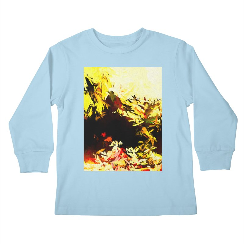 Weeping Woman by the Water Kids Longsleeve T-Shirt by jackievano's Artist Shop