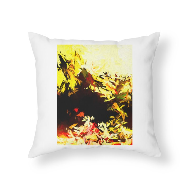 Weeping Woman by the Water Home Throw Pillow by jackievano's Artist Shop