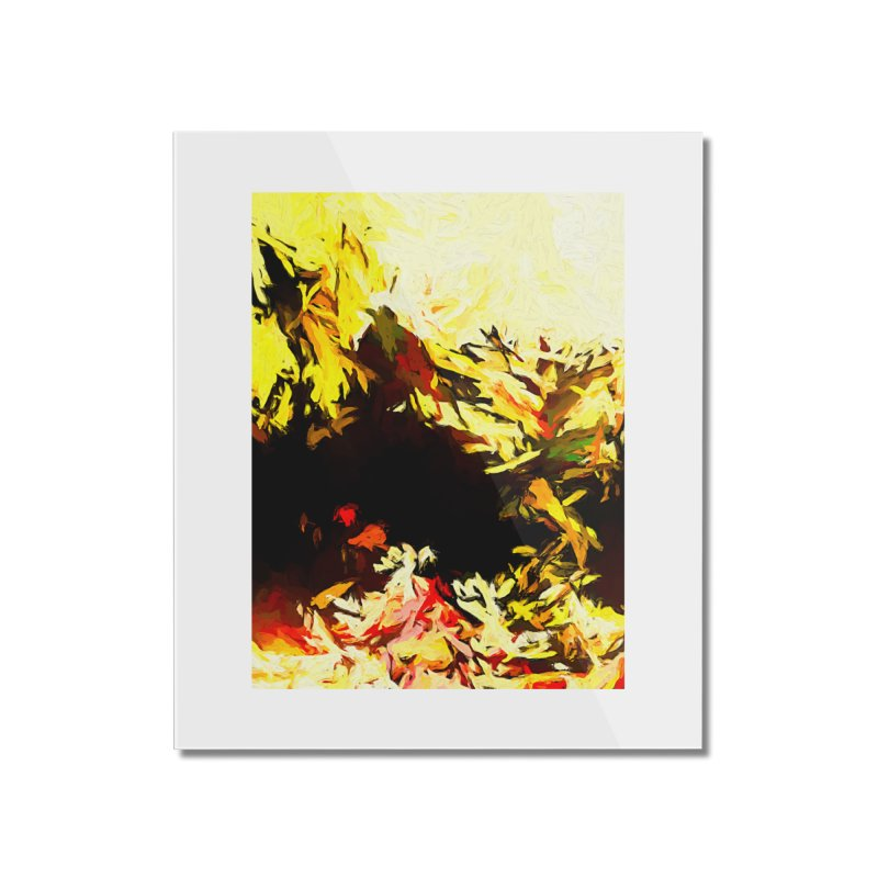 Weeping Woman by the Water Home Mounted Acrylic Print by jackievano's Artist Shop