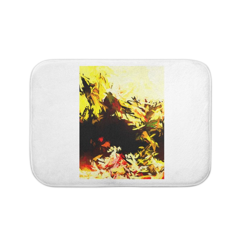 Weeping Woman by the Water Home Bath Mat by jackievano's Artist Shop