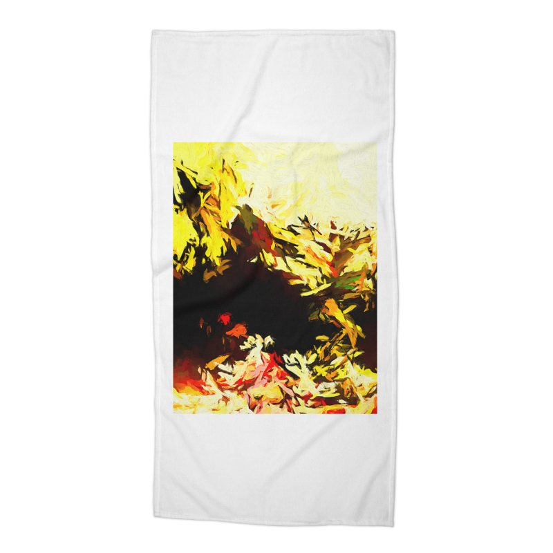 Weeping Woman by the Water Accessories Beach Towel by jackievano's Artist Shop