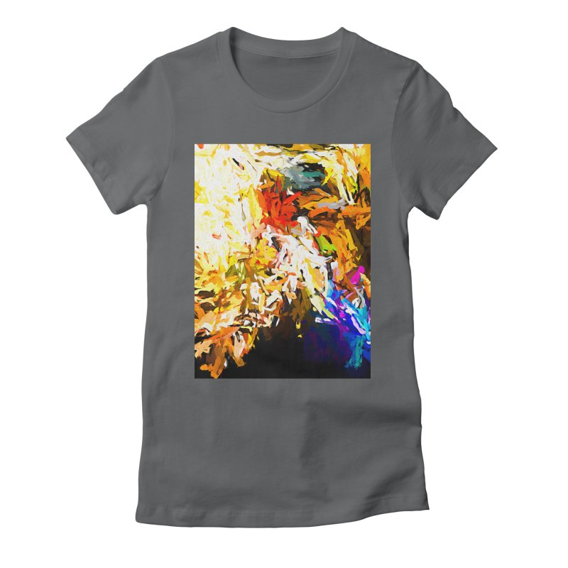 Heavy Weight of the Burdened Soul JVO2019 Women's Fitted T-Shirt by jackievano's Artist Shop