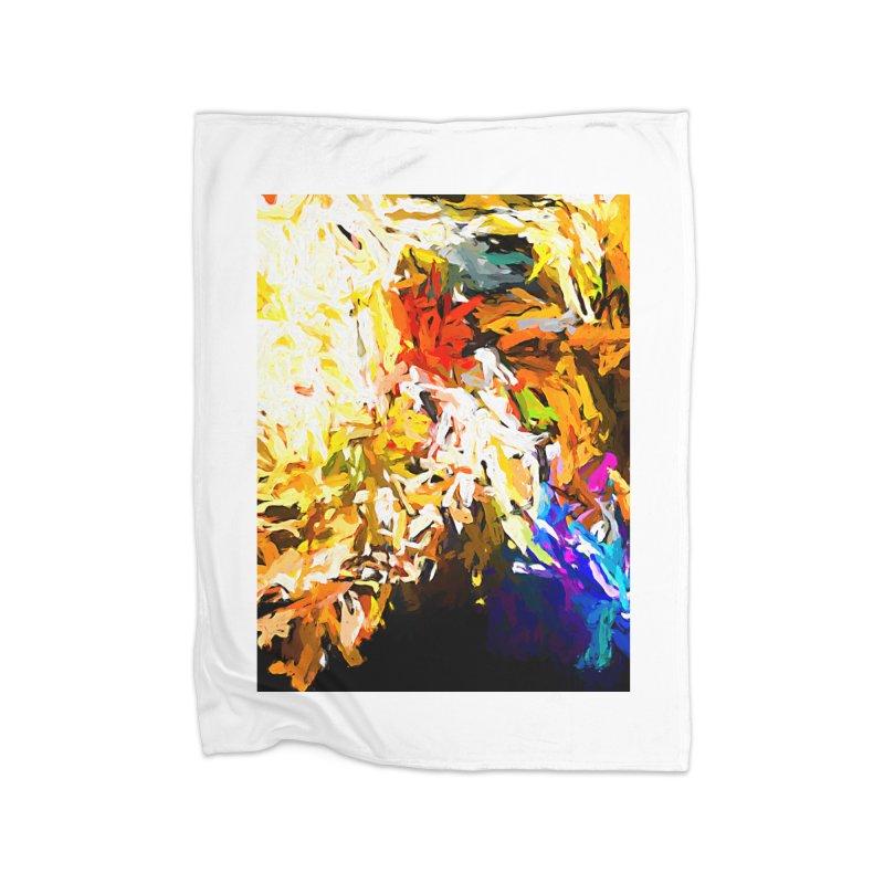 Heavy Weight of the Burdened Soul JVO2019 Home Fleece Blanket Blanket by jackievano's Artist Shop