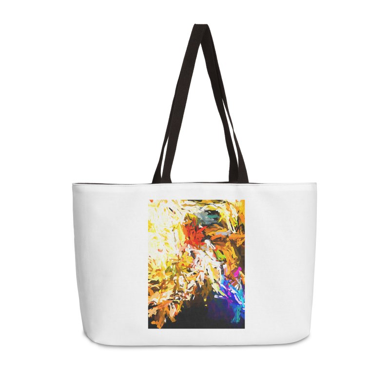 Heavy Weight of the Burdened Soul JVO2019 Accessories Weekender Bag Bag by jackievano's Artist Shop