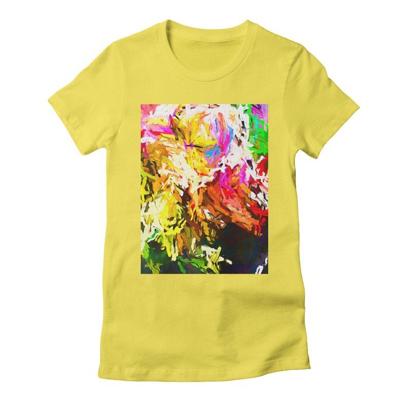 Orange Crocodile JVO2019 Women's Fitted T-Shirt by jackievano's Artist Shop