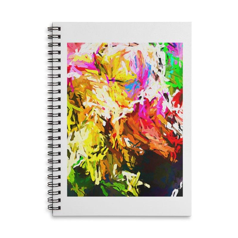 Orange Crocodile JVO2019 Accessories Lined Spiral Notebook by jackievano's Artist Shop