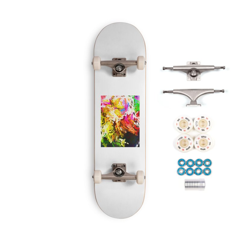 Orange Crocodile JVO2019 Accessories Complete - Premium Skateboard by jackievano's Artist Shop