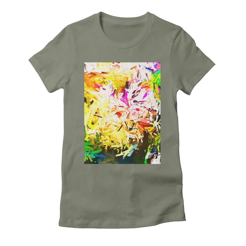 Obscurity and the Elusive Hunt for Fame JVO2019 Women's Fitted T-Shirt by jackievano's Artist Shop