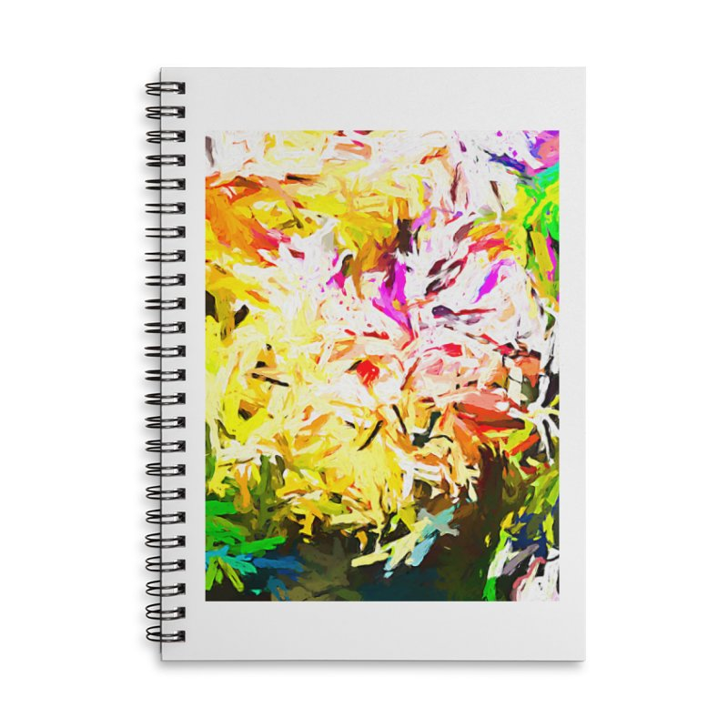 Obscurity and the Elusive Hunt for Fame JVO2019 Accessories Lined Spiral Notebook by jackievano's Artist Shop