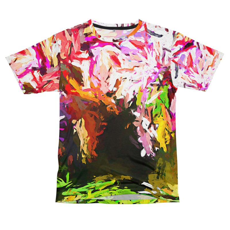 Red Eye and the Red Triangle JVO2019 Men's T-Shirt Cut & Sew by jackievano's Artist Shop