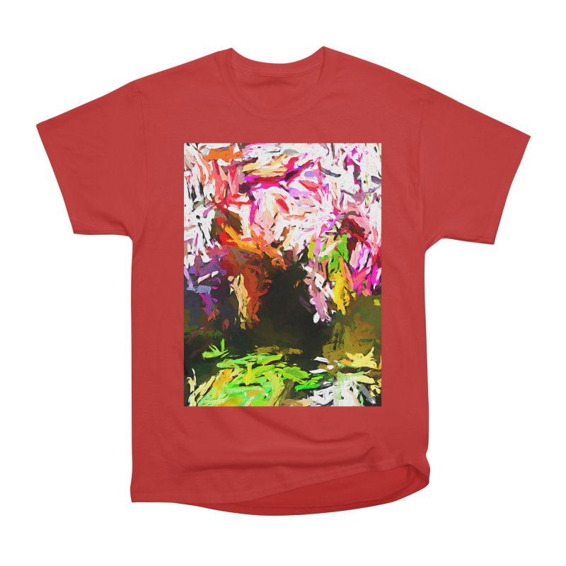 Red Eye and the Red Triangle JVO2019 Women's Heavyweight Unisex T-Shirt by jackievano's Artist Shop