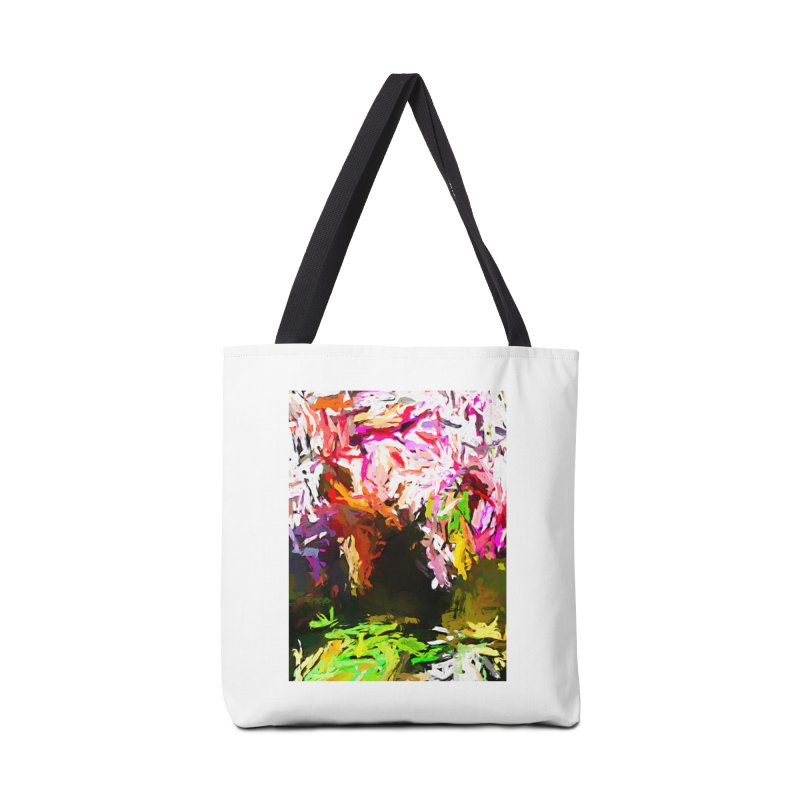 Red Eye and the Red Triangle JVO2019 Accessories Tote Bag Bag by jackievano's Artist Shop