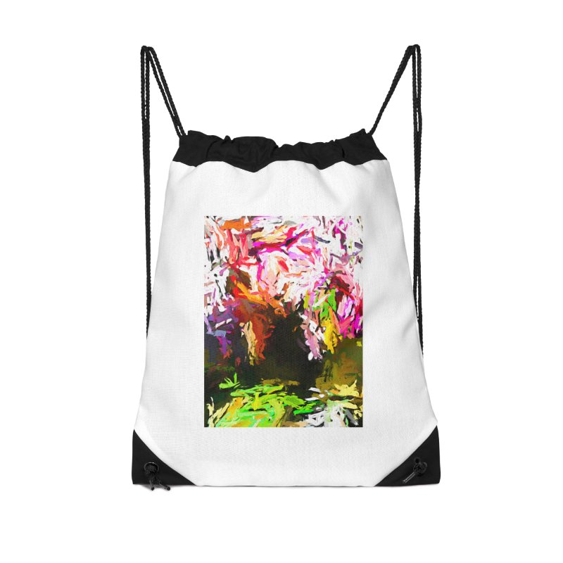 Red Eye and the Red Triangle JVO2019 Accessories Drawstring Bag Bag by jackievano's Artist Shop