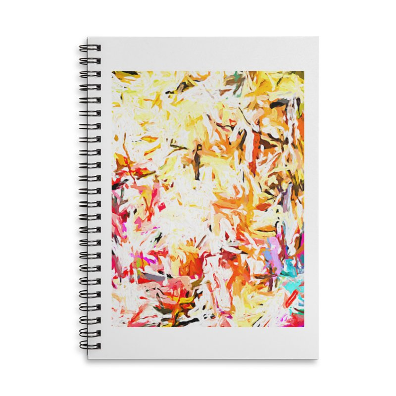 Red Lipstick on the Dance Floor JVO2019 Accessories Lined Spiral Notebook by jackievano's Artist Shop