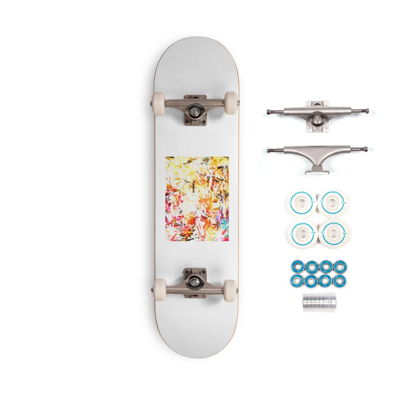 Red Lipstick on the Dance Floor JVO2019 Accessories Complete - Basic Skateboard by jackievano's Artist Shop