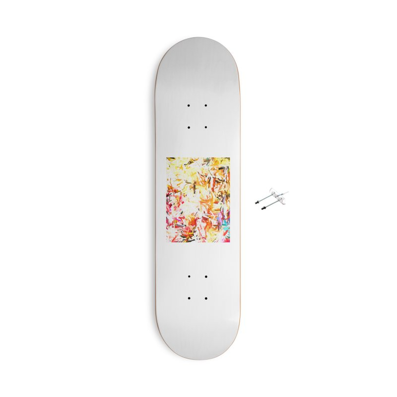 Red Lipstick on the Dance Floor JVO2019 Accessories With Hanging Hardware Skateboard by jackievano's Artist Shop